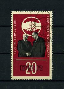 DDR 1966 Nr 1176 f7 gestempelt (104188)