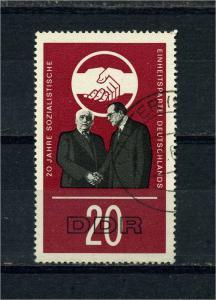 DDR 1966 Nr 1176 f7 gestempelt (104189)