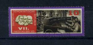 DDR 1967 Nr 1258 f10 gestempelt (104252)