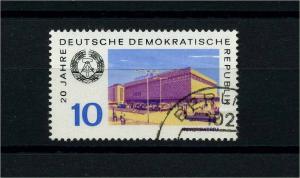 DDR 1969 Nr 1495 f45 gestempelt (104355)