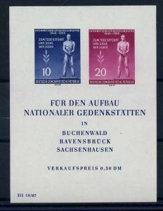 DDR 1955 Bl.11 postfrisch (107016)