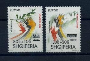 ALBANIEN 1995 Nr 2556-2557 postfrisch (107102)