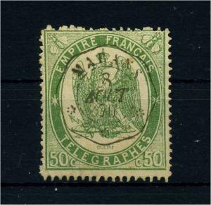 FRANKREICH 1868 Nr T6 gestempelt (107176)