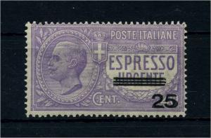 ITALIEN 1917 Nr 128 postfrisch (107369)