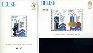 BELIZE 1980 Bl.1+13 postfrisch (107384)
