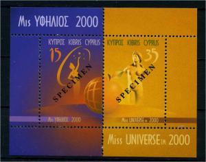 ZYPERN 2000 Bl.22 postfrisch (107411)