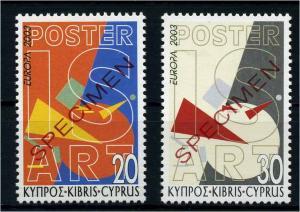 ZYPERN 2003 Nr 1013-1014 postfrisch (107413)