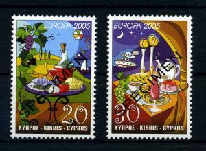 ZYPERN 2005 Nr 1056-1057 postfrisch (107416)