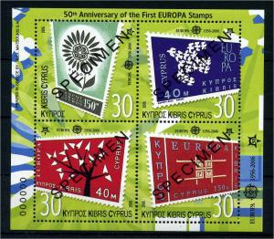 ZYPERN 2006 Bl.25 postfrisch (107419)