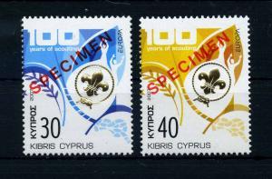 ZYPERN 2007 Nr 1096-1097 postfrisch (107427)