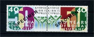 ZYPERN 2007 Nr 1098-1099 postfrisch (107428)