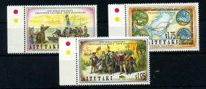 AITUTAKI 1992 Nr 702-704 postfrisch (107435)