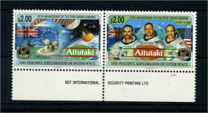 AITUTAKI 1994 Nr 728-729 postfrisch (107449)
