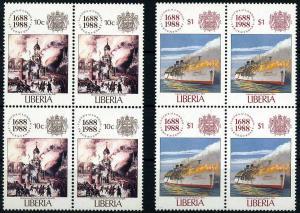 LIBERIA 1988 Nr 1435+1438 postfrisch (107689)