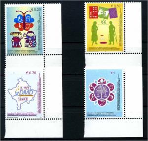 KOSOWO 2007 Nr 64-67 postfrisch (107963)