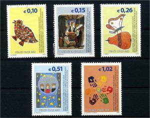 KOSOWO 2002 Nr 11-15 postfrisch (107969)
