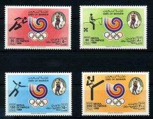 BAHRAIN 1988 Nr 380-383 postfrisch (108010)