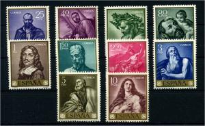 SPANIEN 1963 Nr 1384-1393 postfrisch (108034)