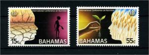 BAHAMAS 1992 Nr 788-789 postfrisch (108035)