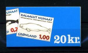 GROENLAND 1996 Nr MH6 postfrisch (108137)