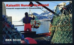 GROENLAND 1990 Nr MH3 postfrisch (108139)