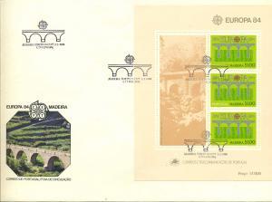 MADEIRA 1984 Bl.43 gestempelt (700299)