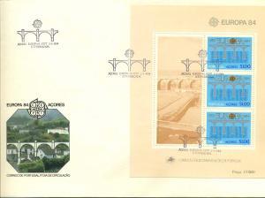 AZOREN 1984 Bl.43 gestempelt (700300)