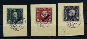 KUK Feldpost 1915 Nr 39-41 gestempelt (108421)