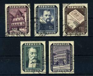 OESTERREICH 1953 Nr 969-993 gestempelt (108431)