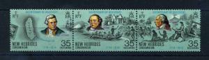 NEUE HEBRIDEN 1974 Nr 391-393 postfrisch (108532)