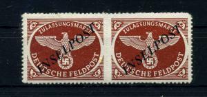 INSELPOST 1944 Nr 10Bd Haftstelle/Falz (108547)