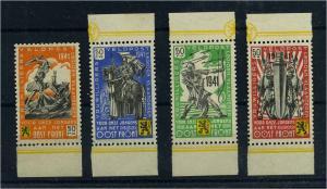 BELGIEN 1941 Nr I-III Haftstelle/Falz (108549)