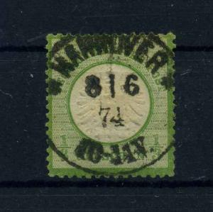 DEUTSCHES REICH 1872 Nr 17 gestempelt (108597)
