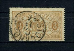 SCHWEDEN 1874 Nr D1A gestempelt (108645)