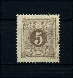 SCHWEDEN 1874 Nr P3A gestempelt (108647)