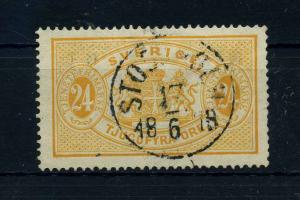 SCHWEDEN 1874 Nr D8A gestempelt (108648)