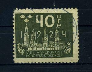 SCHWEDEN 1924 Nr 151 gestempelt (108657)