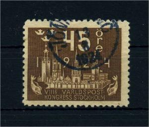SCHWEDEN 1924 Nr 152 gestempelt (108658)