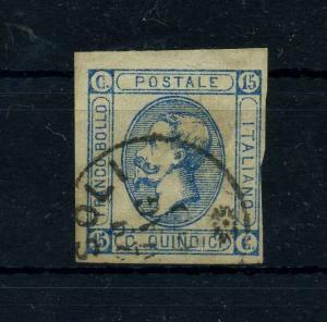 ITALIEN 1863 Nr 15I gestempelt (108703)