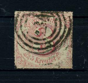 THURN+TAXIS 1866 Nr 52 gestempelt (108763)