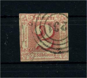 THURN+TAXIS 1859 Nr 16 gestempelt (108770)