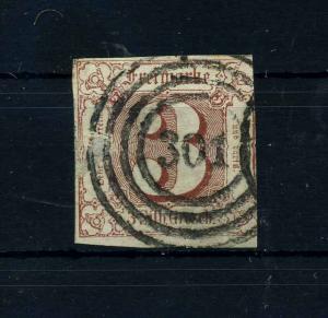 THURN+TAXIS 1859 Nr 17 gestempelt (108775)