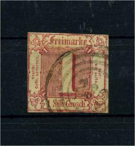 THURN+TAXIS 1862 Nr 29 gestempelt (108784)