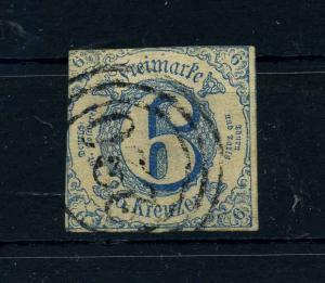 THURN+TAXIS 1862 Nr 33 gestempelt (108796)