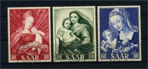 SAARLAND 1954 Nr 351-353 gestempelt (108810)