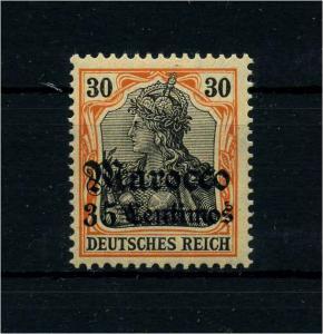 DP MAROKKO 1906 Nr 39 postfrisch (109184)