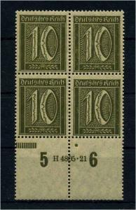 DEUTSCHES REICH 1921 Nr 158 postfrisch (109316)