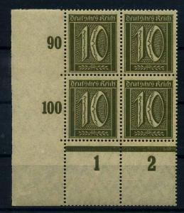 DEUTSCHES REICH 1921 Nr 158 postfrisch (109317)