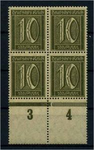 DEUTSCHES REICH 1921 Nr 158 postfrisch (109318)