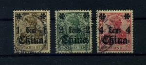 DP CHINA 1906 Nr 38-40 gestempelt (109380)
